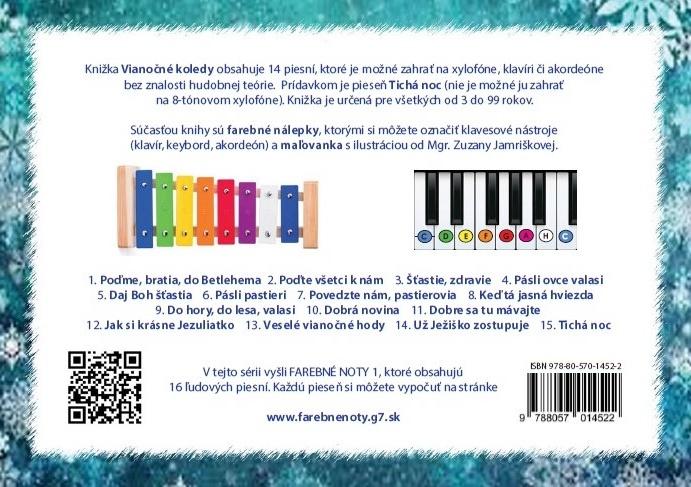 Farebné noty 2 - Vianočné koledy