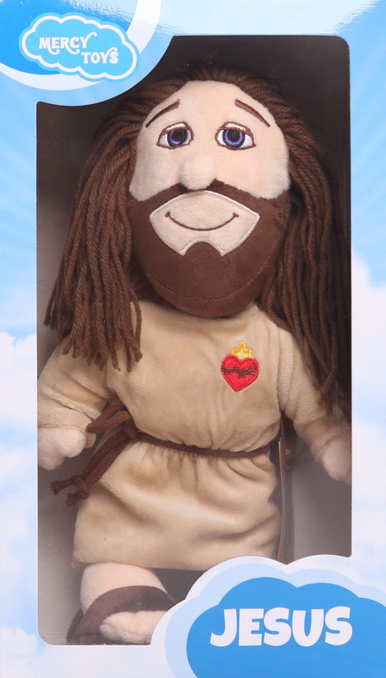 Ježiš - plyšová hračka v darčekovom boxe