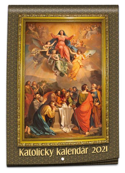 Katolícky kalendár 2021 (nástenný) / PG