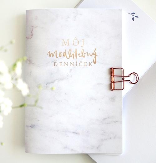 Môj modlitebný denníček - mramorový
