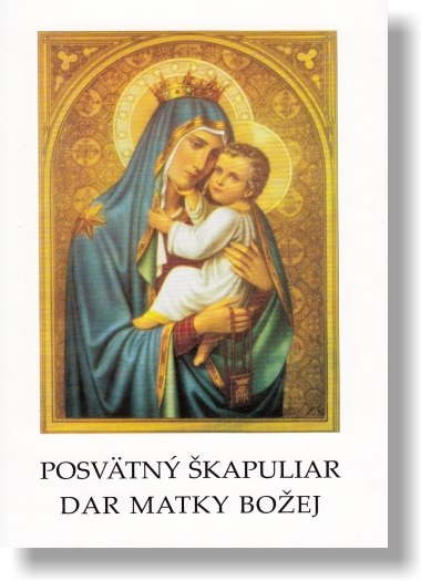 Posvätný škapuliar dar Matky Božej / L