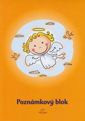 Poznámkový blok - Anjel