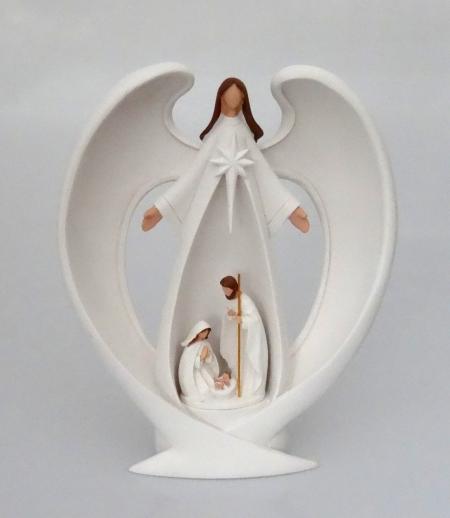 Betlehem svietiaci Anjel (KWS16135) - Sv. rodina