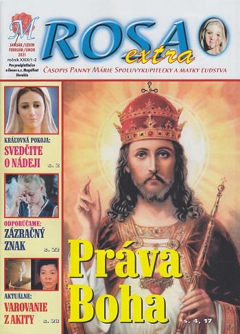 Časopis M ROSA extra január/február 2021