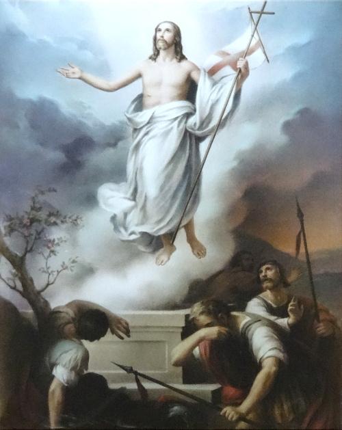 Obraz na plátne: Zmŕtvychvstalý Pán Ježiš