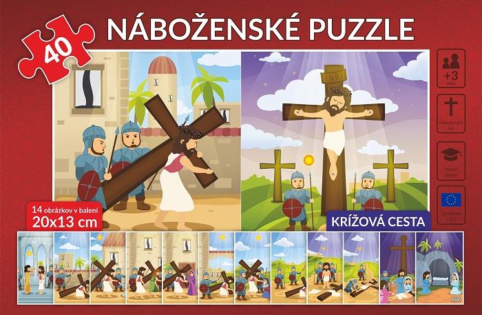 Náboženské puzzle 40 – Krížová cesta