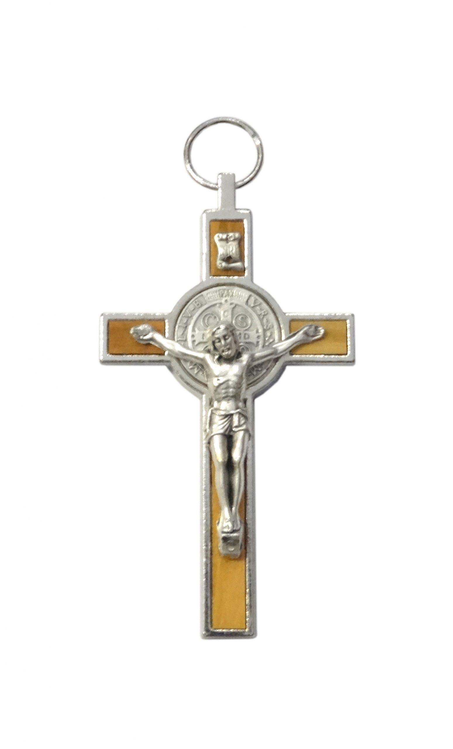 Kríž kov. (PG213/N) Benediktínsky – bledý