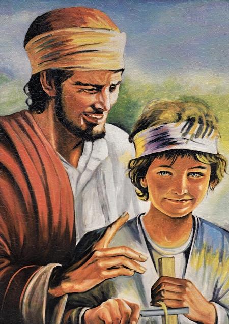 Obraz na dreve: Svätý Jozef (40×30)