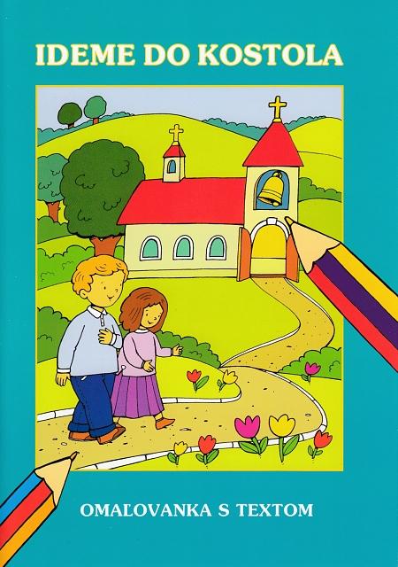 Maľovanka – Ideme do kostola / Lúč