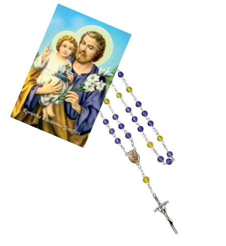 Ruženec (R957) s obrázkom (Z040) – sv. Jozef