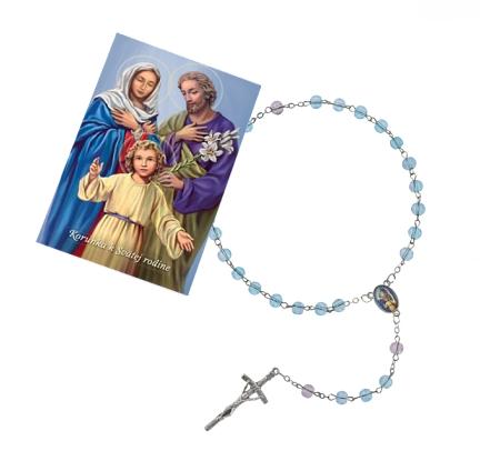 Ruženec (R1375) s obrázkom (Z041) – Svätá rodina
