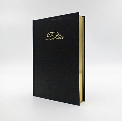 Biblia ECAV zlatorez - čierna