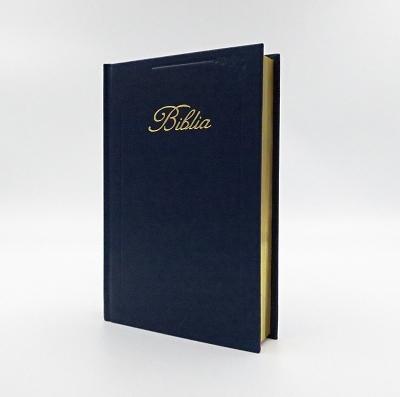 Biblia ECAV zlatorez - tmavomodrá