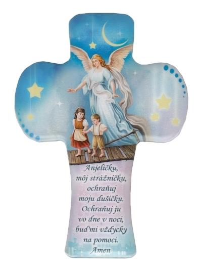 Kríž detský (2862/A103) – Anjel strážny