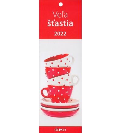 Kalendár 2022 Veľa šťastia (Doron)