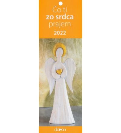 Kalendár 2022 Čo ti zo srdca prajem (Doron)