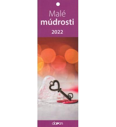 Kalendár 2022 Malé múdrosti (Doron)