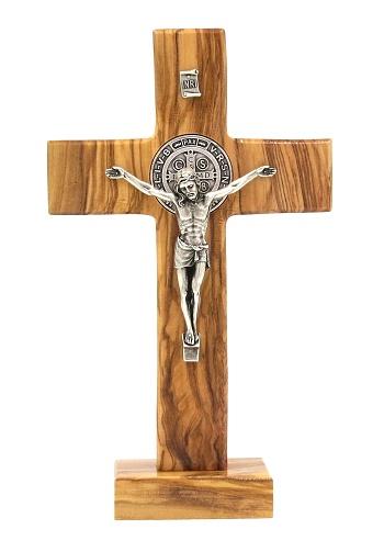 Kríž drev. na postavenie (3843) Benediktínsky - bledý