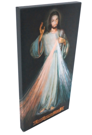 Obraz na plátne (14811) Božie milosrdenstvo (80x40)