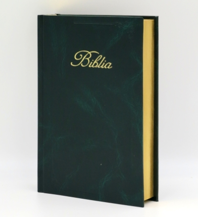 Biblia ECAV zlatorez - zelená