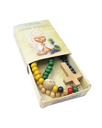 Ruženec s krabičkou (2334/K126) - farebný