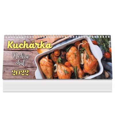 Kalendár 2022 (stolový) Kuchárka
