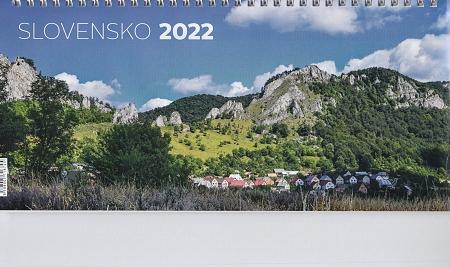 Kalendár 2022 (stolový) Slovensko