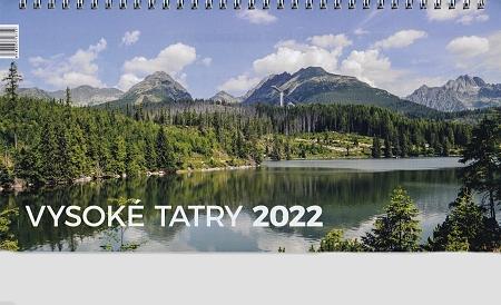 Kalendár 2022 (stolový) Vysoké Tatry