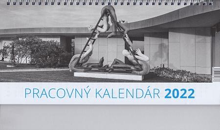 Kalendár 2022 (stolový) Pracovný veľký