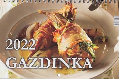 Kalendár 2022 (nástenný) Gazdinka