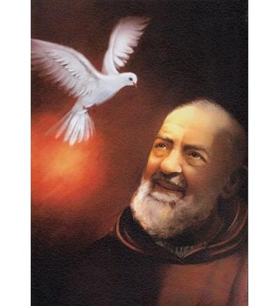 Obraz na dreve: Svätý Páter Pio (30×21)