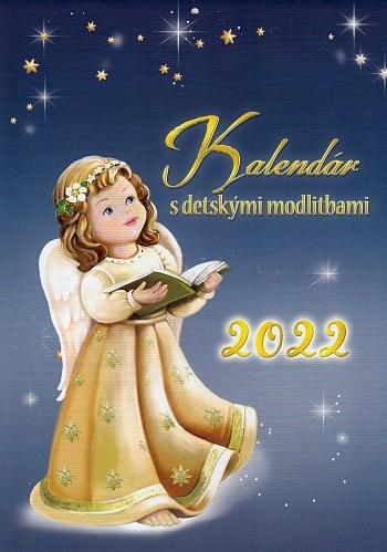 Kalendár s detskými modlitbami 2022 (nástenný) / ZAEX