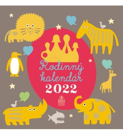 Rodinný kalendár 2022 (nástenný) / SSV