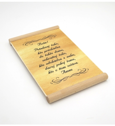 Citát na dreve(488): Bože! Požehnaj toho, kto prichádza...