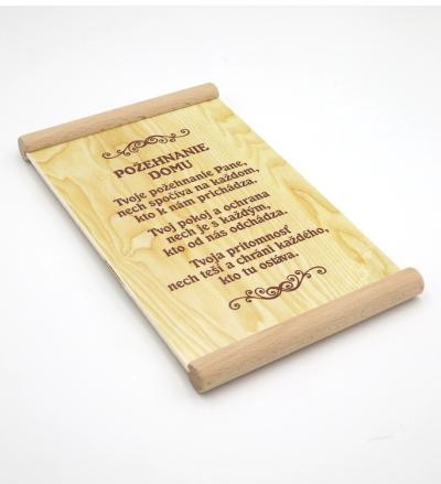 Citát na dreve (489): Požehnanie domu