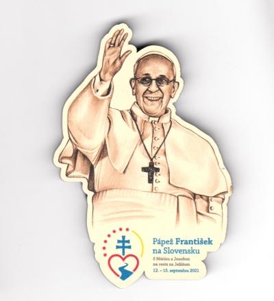 Magnetka drev. Pápež František na Slovensku (výsek)