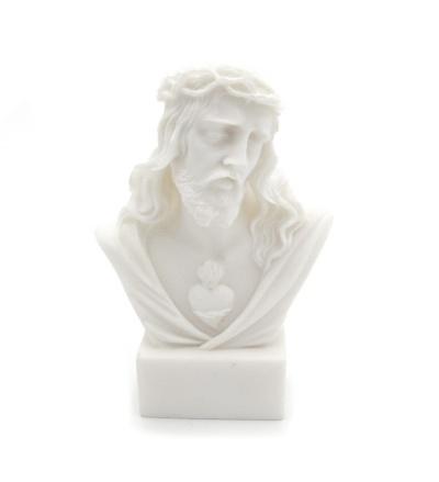 Busta Srdce Pána Ježiša (301) - alabaster